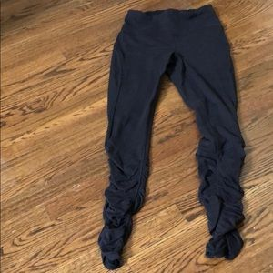 Lululemon ruched leggings